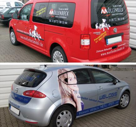 Fahrzeugbeschriftung von ADCO