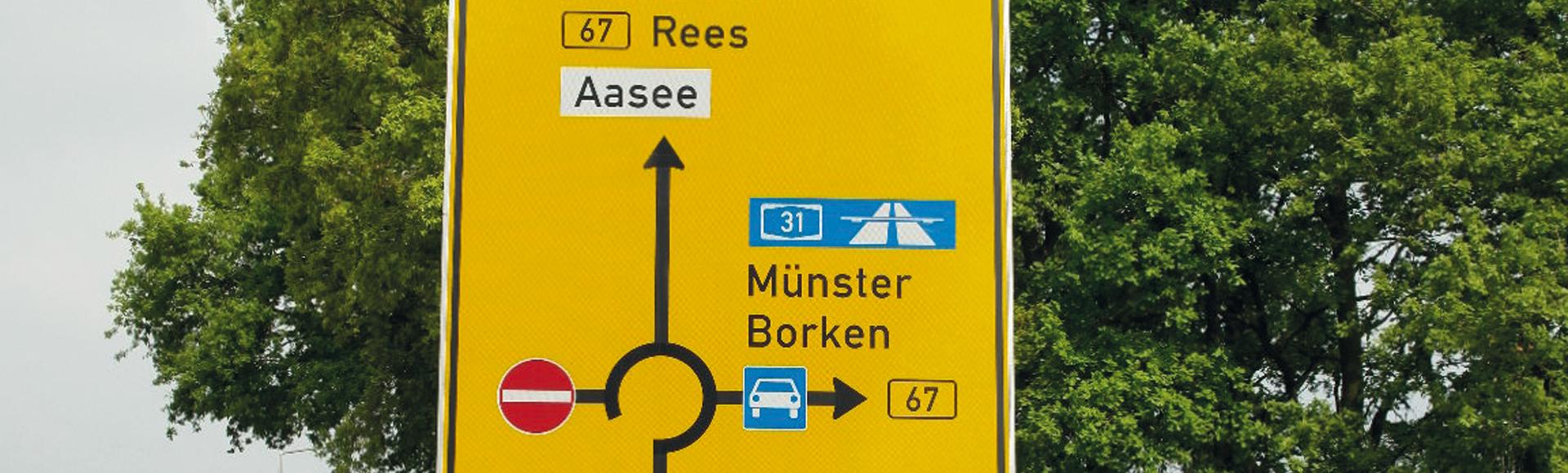 Verkehrsschilder von ADCO